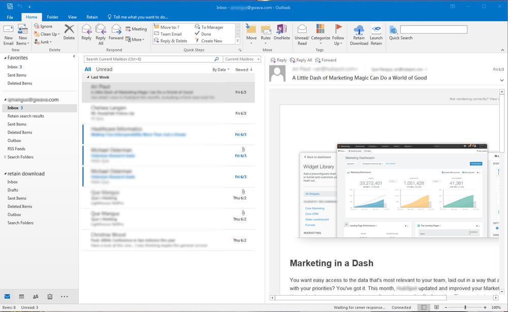 Outlook plugin